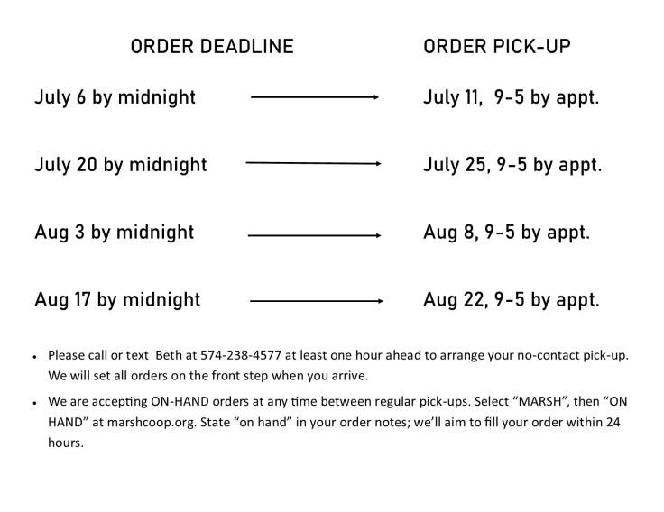 order schedule 7-2
